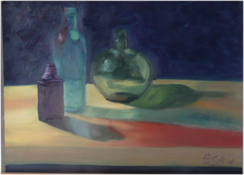 Alla Prima Stilllife painting with Oils by Bart